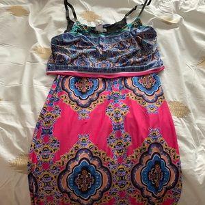 NWOT women's maxi dress